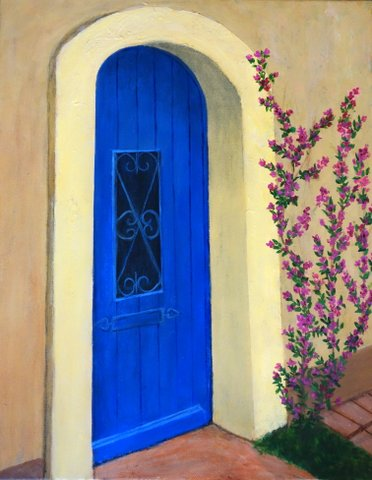 Blue Door by Caroline Sanchez for 2014 Art Contest